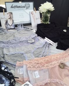 harMonica Design eco-lingerie at Renegade Craft Fair Brooklyn, June 2015