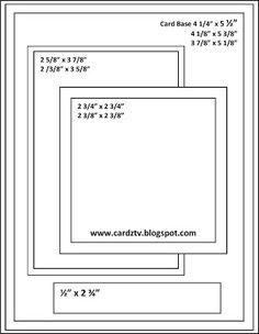 CARDZ TV CARD KIT & KABOODLE SKETCH ONE