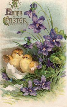 vintage card and new wishes♫♫ pieces) Easter images Easter Art, Easter Crafts, Vintage Greeting Cards, Vintage Postcards, Easter Illustration, Diy Ostern, Easter Wishes, Easter Pictures, Easter Parade