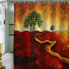 DENY Designs Home Accessories | Madart Inc. Road To Nowhere 2 Shower Curtain