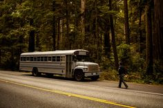Student Converts Old School Bus Into Mobile Home