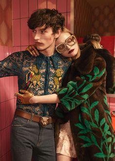 Gucci S/S 2016 by Glen Luchford.