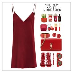 """""""16 dicembre"""" by simona-altobelli ❤ liked on Polyvore featuring Sergio Rossi, Yves Saint Laurent, Dolce&Gabbana, Chloé, Panacea, Henri Bendel, Aesop, Normann Copenhagen, Yankee Candle and tarte"""