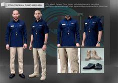 Seragam NET TV - Panduan Lengkap - Bikin-Baju.com Corporate Shirts, Corporate Uniforms, Best Uniforms, Men Design, Design Ideas, Men In Uniform, Work Wear, Military Jacket, Chef Jackets
