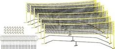 "Maxi-Net Badminton Pack - 6 Court Set w/ 26"" Rackets | eBay"