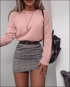 48 cool outfit ideas for a flawless look - Fashion - . - 48 cool outfit ideas for a flawless look – Fashion – - Cute Fall Outfits, Girly Outfits, Mode Outfits, Stylish Outfits, 6th Form Outfits, Grunge Outfits, Cute Casual Outfits For Teens, Mean Girls Outfits, Basic Outfits