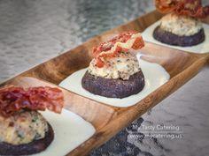 grilled chicken, prosciutto, gorgonzola, ricotta, w/ basil infused crust, & served w/ truffle parmesan cream sauce ___