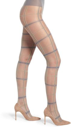 e99bf1d50 Oroblu Tartan Sheer Tights - See more tights at www.fashion-tights.net