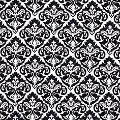 Black And White Damask Pattern Wallpaperawsome Backgrounds Wallpapers Black And White Vintage Pattern Stmohe Black And White Wallpaper, Black And White Background, Black White, Damask Wallpaper, Pattern Wallpaper, Damask Stencil, Montage Photo, White Damask, Background Patterns