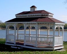 Wedding Gazebo at the Anheuser Estate Kimmswick, Missouri