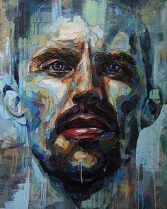 Josh miels - how much for cash homme art, portrait hommes, creative