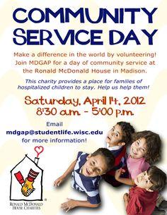 Community Service Spring 2012