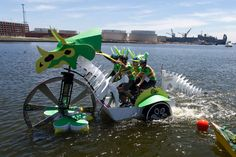 Baltimore Kinetic Sculpture Race: 2013 Race Report: Tricyclotops