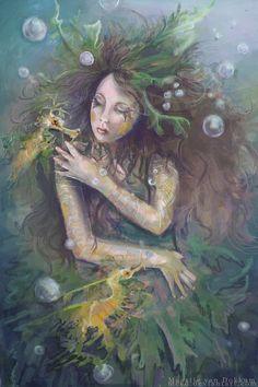 Leafy Seadragon, by MCVD