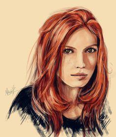 Redhead - ginevra-ginny-weasley Fan Art