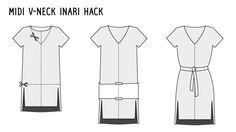Inari hack by What Katie Sews