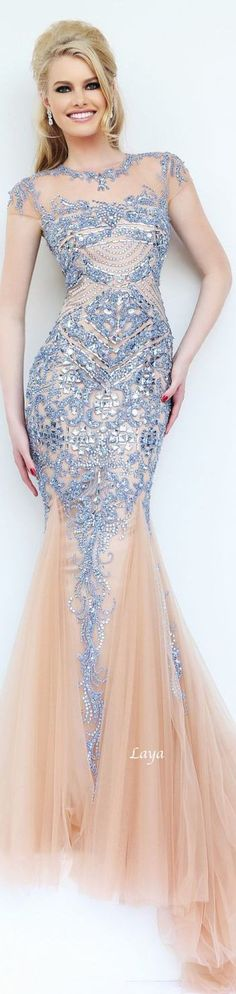 Embellished long gown by sherri hill prom dresses. Sherri Hill Prom Dresses, Homecoming Dresses, Wedding Dresses, Elegant Dresses, Pretty Dresses, Formal Dresses, Beautiful Gowns, Beautiful Outfits, Gorgeous Dress