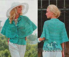 maglia scialle donna