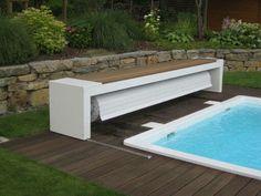 Volet ou bâche piscine avec banc... A faire soit même...
