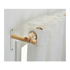 IKEA - SANNOLIKT, Conj. p/varão, , Pode cortar do comprimento desejado com um serrote de metais.