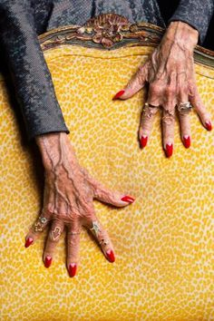 """magichands ~ beautiful """"old lady"""" hands ~ dues PAID!"""