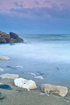 Mediterranean Sea - Costa, Malaga, Spain. Hey, that's where Caroline and Simon went!