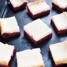 Rich brownies topped with sweet and tangy cheesecake make for the perfect treat.