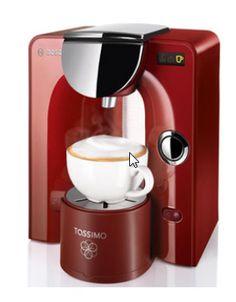 Cafetiere à dosette Bosch TAS 5543 Tassimo rouge - 99,00 € livré