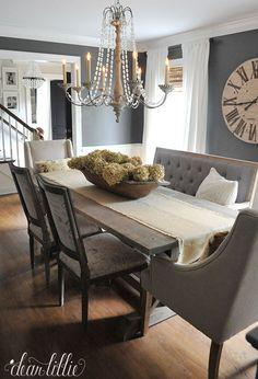 40 Ιδέες διακόσμησης τραπεζαρίας - Μέρος 1ο! | Φτιάξτο μόνος σου - Κατασκευές DIY - Do it yourself