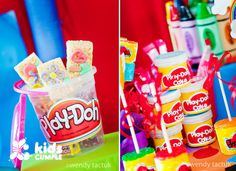 Cumpleaños Play Doh de Mía Catherina - ecumple                              …