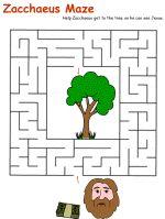 Zacchaeus Maze, to fill the time...