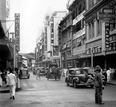 Heacock's Department Store on the Escolta Filipiniana, Art Deco Buildings, Manila Philippines, Cool Photos, Interesting Photos, Back In Time, Pinoy, Department Store, Filipino