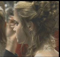 Hermione granger's Yule ball hair from the back