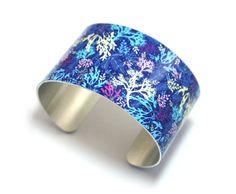 Cuff bracelet ocean jewellery with underwater by DeCumiDesigns, £19.50