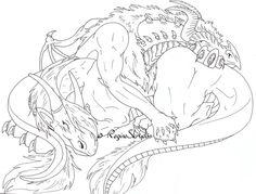 Red Dragon And Armais Naptime By RegineSkrydon On DeviantArt