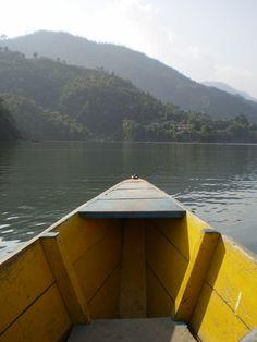 Phewa Lake, Pokhara-Nepal