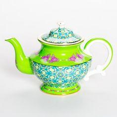 Rockin Moroccan Green Teapot