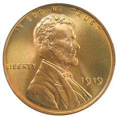 1919 Lincoln Cent