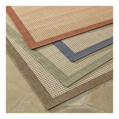 Living room rug, crate & barrel