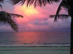 Zoetry Paraiso de la Bonita: sunset view from room Absolutely a #SimplePleasure