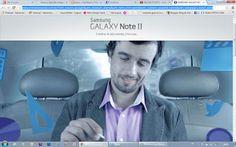 Vale a pena conferir o site de Lançamento do Samsung Galaxy Note II.