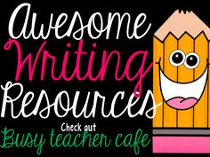 A great page that is dedicated to all things writing. There are some awesome ideas and freebies here to improve writing instruction