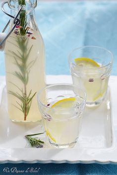 Limonade citron/lavande/romarin.....