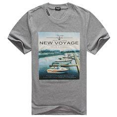 polo ralph lauren outlet Dolce & Gabbana 1902 New Voyage Print Short Sleeve Men's T-Shirt Grey http://www.poloshirtoutlet.us/