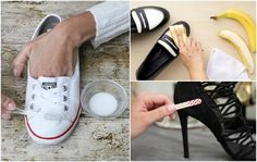 10 curious tricks to leave your shoes as new Deodorant, Health Tips, Sneakers, Shoes, Effort, Craft, Leather Dress Shoes, Tips And Tricks, Look Alike