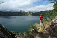 Lac Pavin. Auvergne. France.