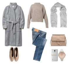 Untitled #537 by fashionlandscape on Polyvore featuring polyvore, fashion, style, Isabel Marant, Wilfred, Calvin Klein Jeans, Martiniano, Chloé, Topshop, rag & bone, Casetify, women's clothing, women's fashion, women, female, woman, misses and juniors