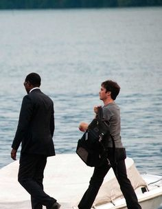 Ian Somerhalder spotted in Lake Como shooting the Azzaro perfumes campaign (July 2, 2013)