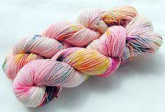 Handdyed SockYarn, 75 Wool, 25 Nylon 100g 3.5 oz. Nr. 176