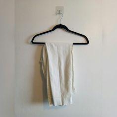 0ca985ac2d0b WHITE QUARTER LENGTHS • H&M white quarter length trousers - Depop Size 10,  Overalls,